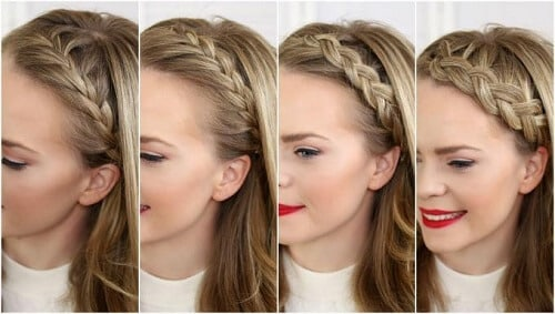 Tết tóc đẹp mái con rết khiến bạn thêm mới lạ phá cách