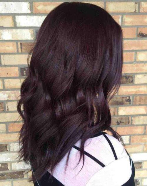 Công thức nhuộm tóc màu đỏ tím