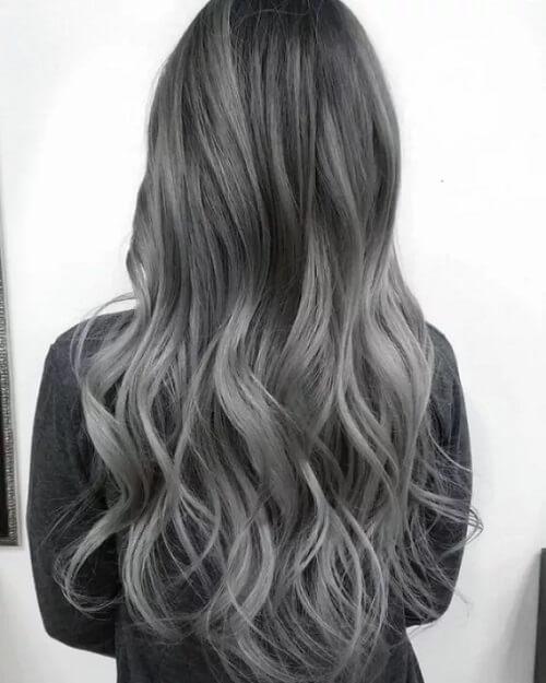 Tóc màu than chì