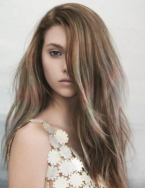 Móc lai tóc màu xám khói