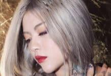 Tóc màu xám khói cá tính