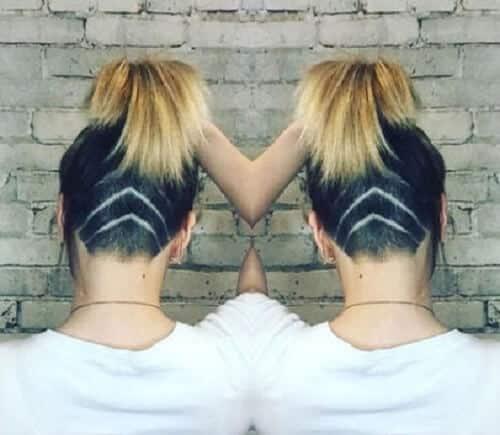 Kiểu tóc undercut nữ 2021- Ảnh 15