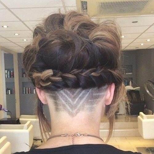 Kiểu tóc undercut nữ 2021- Ảnh 16