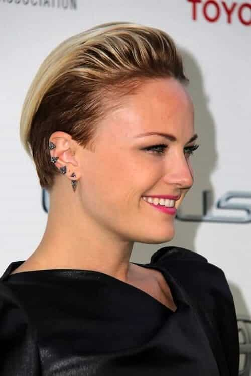 Kiểu tóc undercut nữ 2021- Ảnh 18
