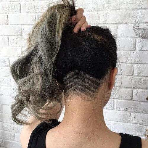 Kiểu tóc undercut nữ 2021- Ảnh 20