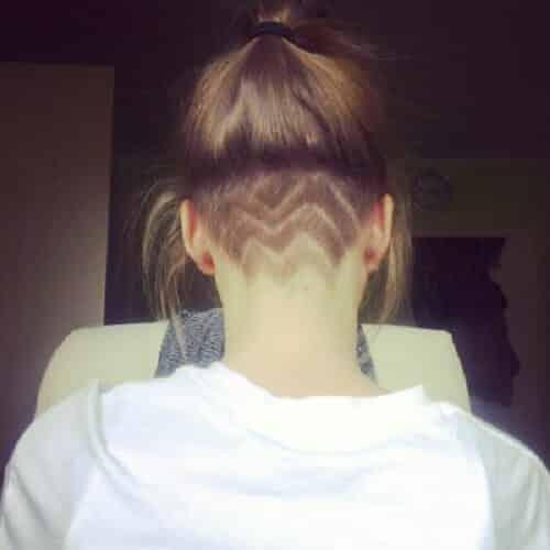 Kiểu tóc undercut nữ 2021- Ảnh 22
