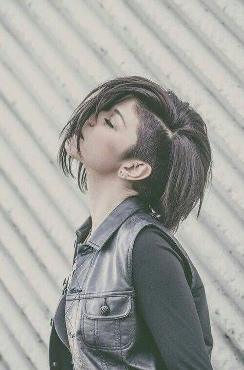 Kiểu tóc undercut nữ 2021- Ảnh 26