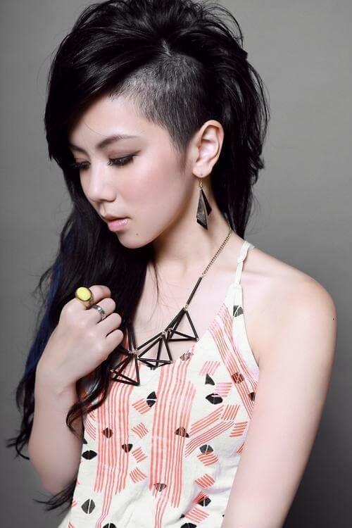 Kiểu tóc undercut nữ 2021- Ảnh 5
