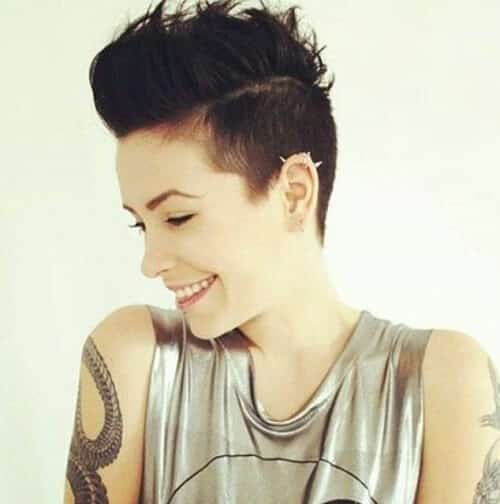 Kiểu tóc undercut nữ 2021- Ảnh 6
