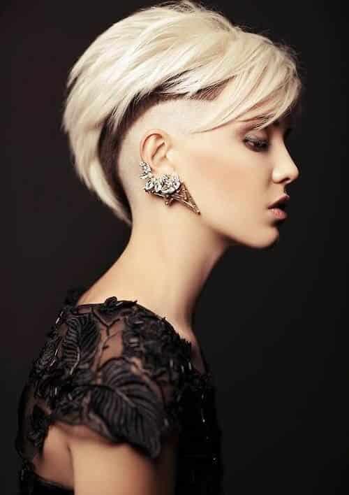 Kiểu tóc undercut nữ 2021- Ảnh 7