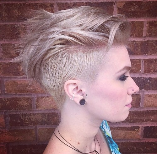 Kiểu tóc undercut nữ 2021- Ảnh 8