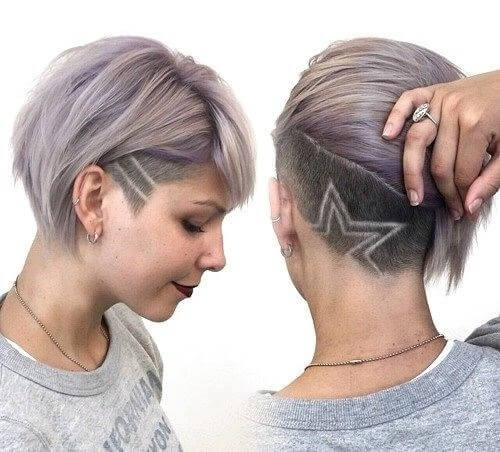 Kiểu tóc undercut nữ 2021- Ảnh 9