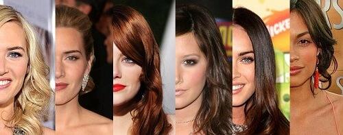 Da bạn giống màu với người nổi tiếng nào nhất?