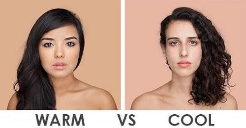 Bạn thuộc tông da nóng hay lạnh?