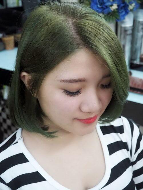 Màu tóc rêu