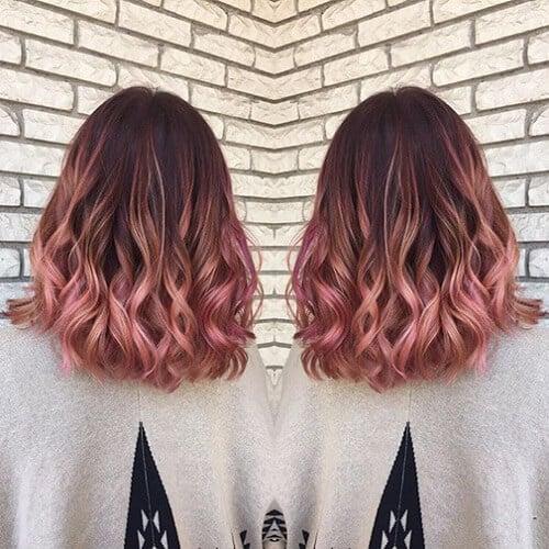 Highlight cho tóc ngắn
