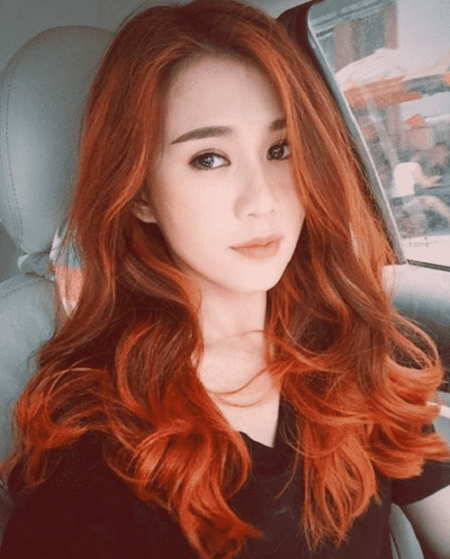 Tóc màu đồng cam