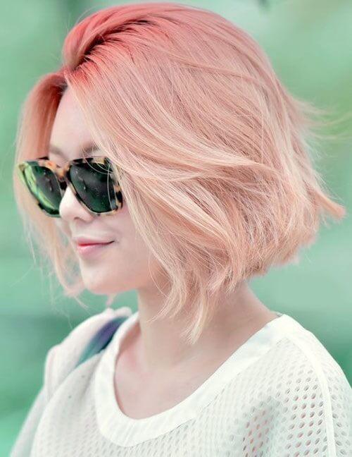 Tóc màu hồng