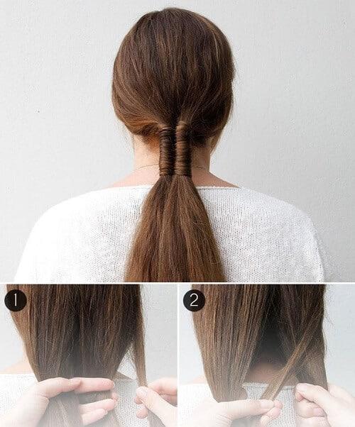 Tết tóc kiểu vô cực