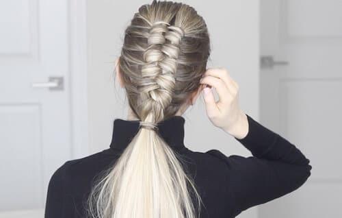 Infinity Braid hay còn gọi là tóc tết vô cực