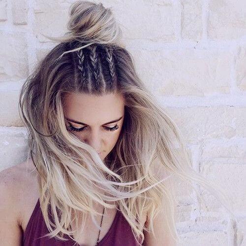 Kiểu tóc độc đáo tưởng khó như lại cực dễ