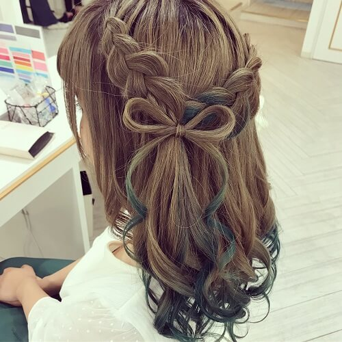 Tết tóc đẹp dự tiệc cưới