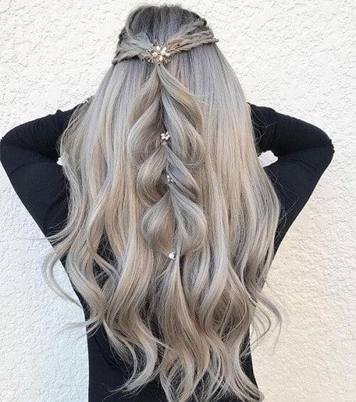 Tóc màu khói xám