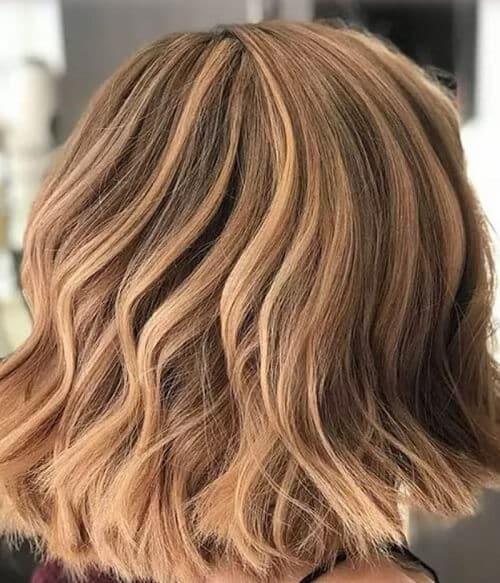 Tóc màu nâu nhạt Hazelnut