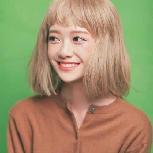 Kiểu tóc màu vàng khói 2021 - Ảnh 1