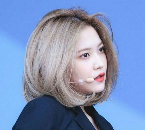 Kiểu tóc màu vàng khói 2021 - Ảnh 23