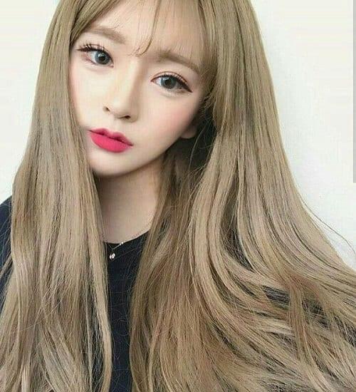 Kiểu tóc màu vàng khói 2021 - Ảnh 5