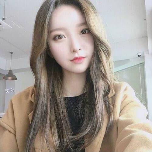 Tóc màu vàng rêu Hàn Quốc