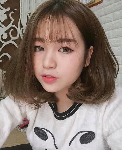 Kiểu tóc ngắn bồng bềnh 2021 - Ảnh 14
