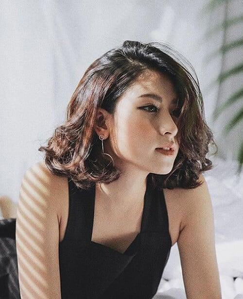 Kiểu tóc ngắn bồng bềnh 2021 - Ảnh 19