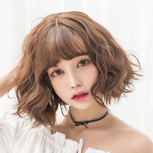 Kiểu tóc ngắn bồng bềnh 2021 - Ảnh 7