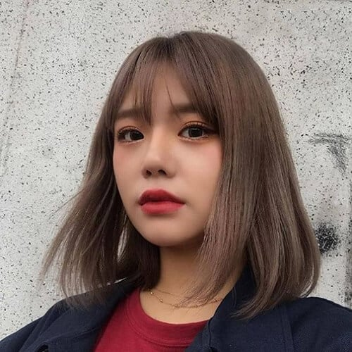 Kiểu tóc ngắn duỗi phồng 2021 xinh đẹp lộng lẫy - Ảnh 14