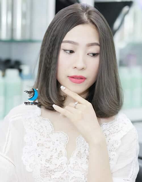 Kiểu tóc ngắn duỗi phồng 2021 xinh đẹp lộng lẫy - Ảnh 17