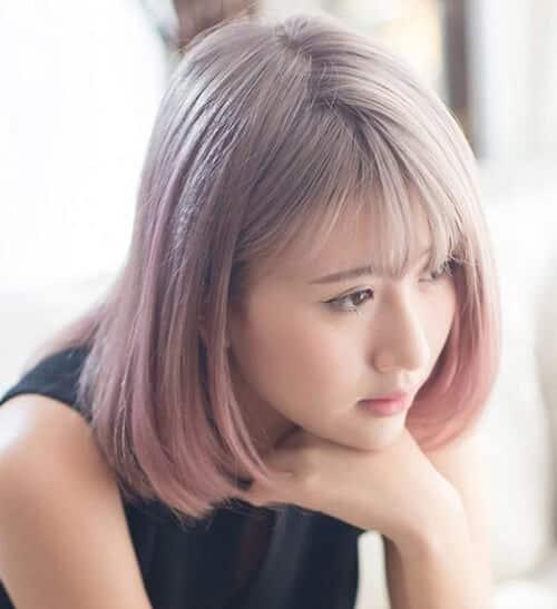 Kiểu tóc ngắn duỗi phồng 2021 xinh đẹp lộng lẫy - Ảnh 19