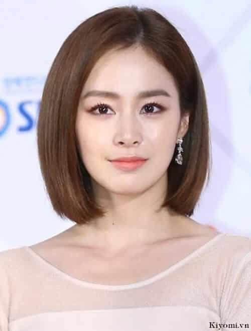Kiểu tóc ngắn duỗi phồng 2021 xinh đẹp lộng lẫy - Ảnh 22