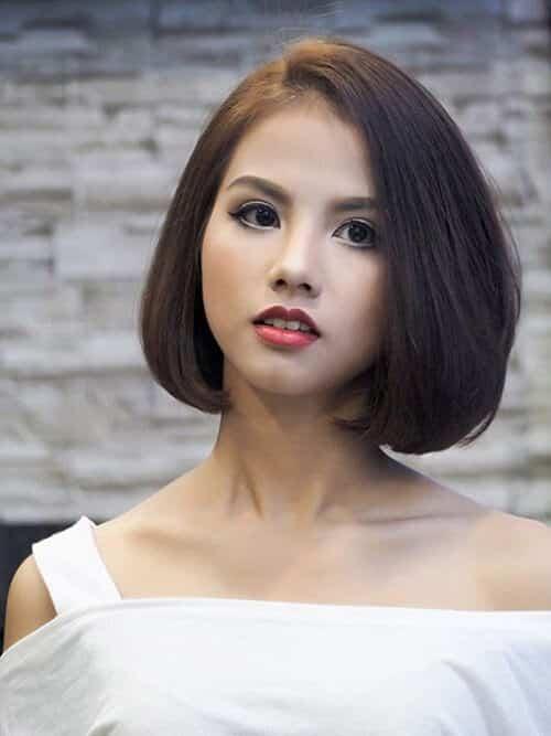 Kiểu tóc ngắn duỗi phồng 2021 xinh đẹp lộng lẫy - Ảnh 26