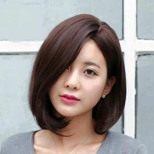 Kiểu tóc ngắn duỗi phồng 2021 xinh đẹp lộng lẫy - Ảnh 27
