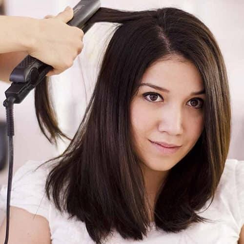 Kiểu tóc ngắn duỗi phồng 2021 xinh đẹp lộng lẫy - Ảnh 28
