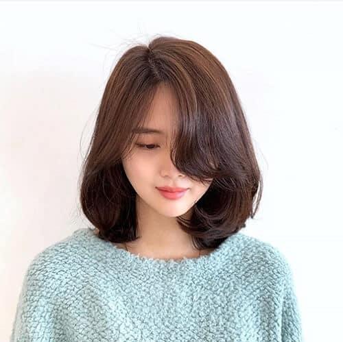 Kiểu tóc ngắn duỗi phồng 2021 xinh đẹp lộng lẫy - Ảnh 29