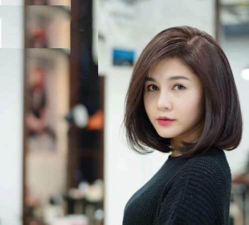 Kiểu tóc ngắn duỗi phồng 2021 xinh đẹp lộng lẫy - Ảnh 7