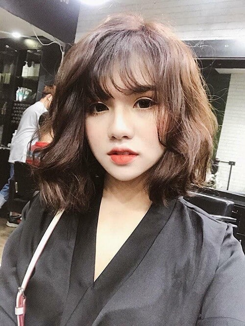 Kiểu tóc ngắn lượn sóng đẹp nhất 2021 - Ảnh 16