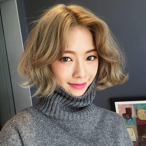 Kiểu tóc ngắn lượn sóng đẹp nhất 2021 - Ảnh 17