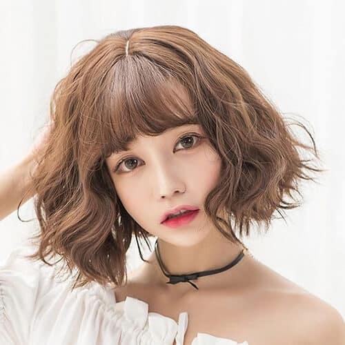 Kiểu tóc ngắn lượn sóng đẹp nhất 2021 - Ảnh 4