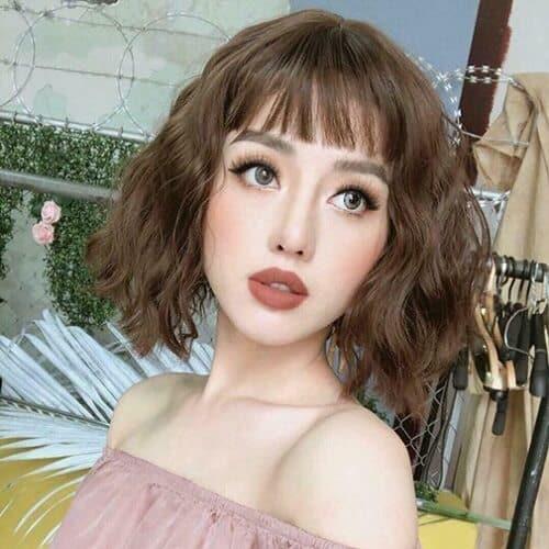 Kiểu tóc ngắn lượn sóng đẹp nhất 2021 - Ảnh 7