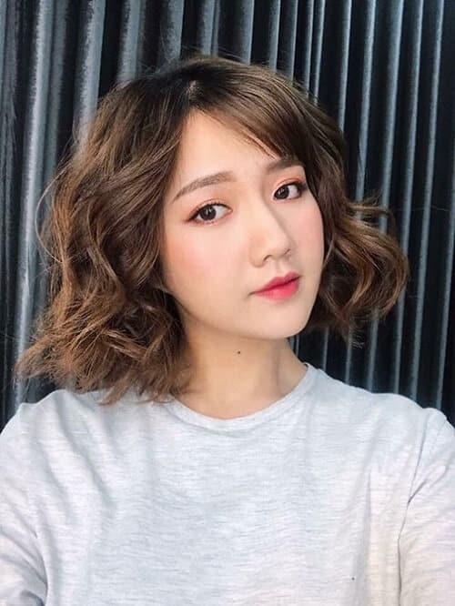 Kiểu tóc ngắn lượn sóng đẹp nhất 2021 - Ảnh 9