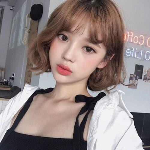 Kiểu tóc ngắn xoăn nhẹ 2021 - Ảnh 16